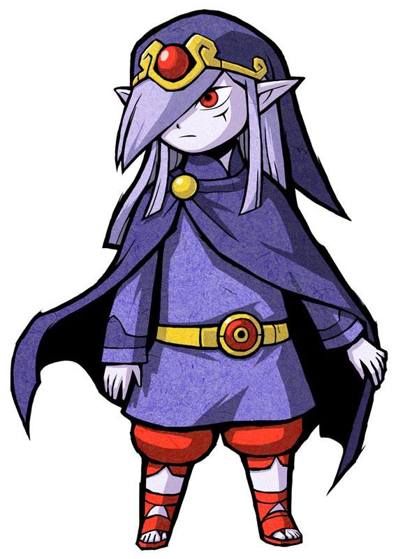 Tags: Anime, Nintendo, Zelda no Densetsu: Fushigi no Boushi, Zelda no Densetsu, Vaati, Purple Hat, Official Art, Cover Image, Artist Request