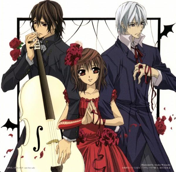 Tags: Anime, Vampire Knight, Yuki Cross, Kiryuu Zero, Kuran Kaname, Vampire, Cello