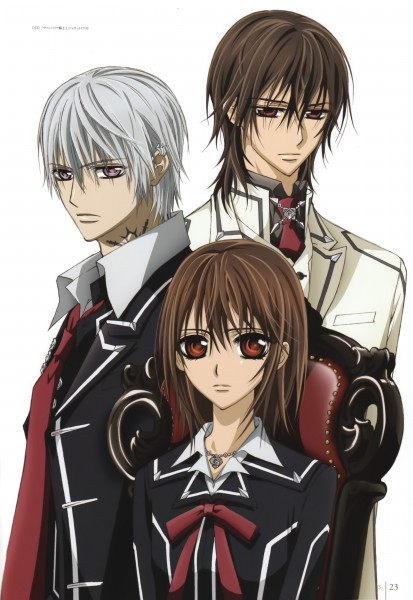 Tags: Anime, Vampire Knight, Kuran Kaname, Kiryuu Zero, Yuki Cross