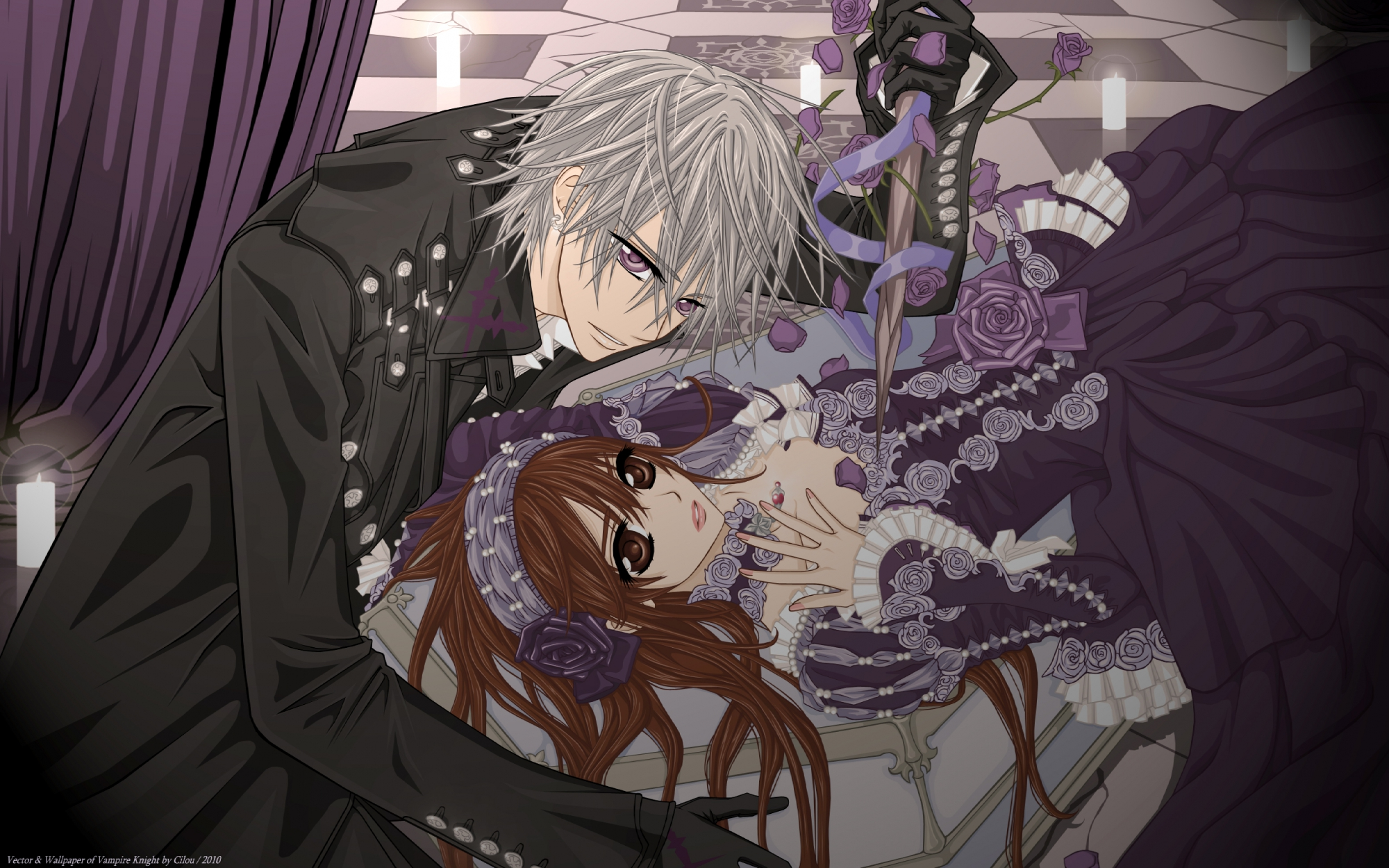 vampire knight, wallpaper - zerochan anime image board