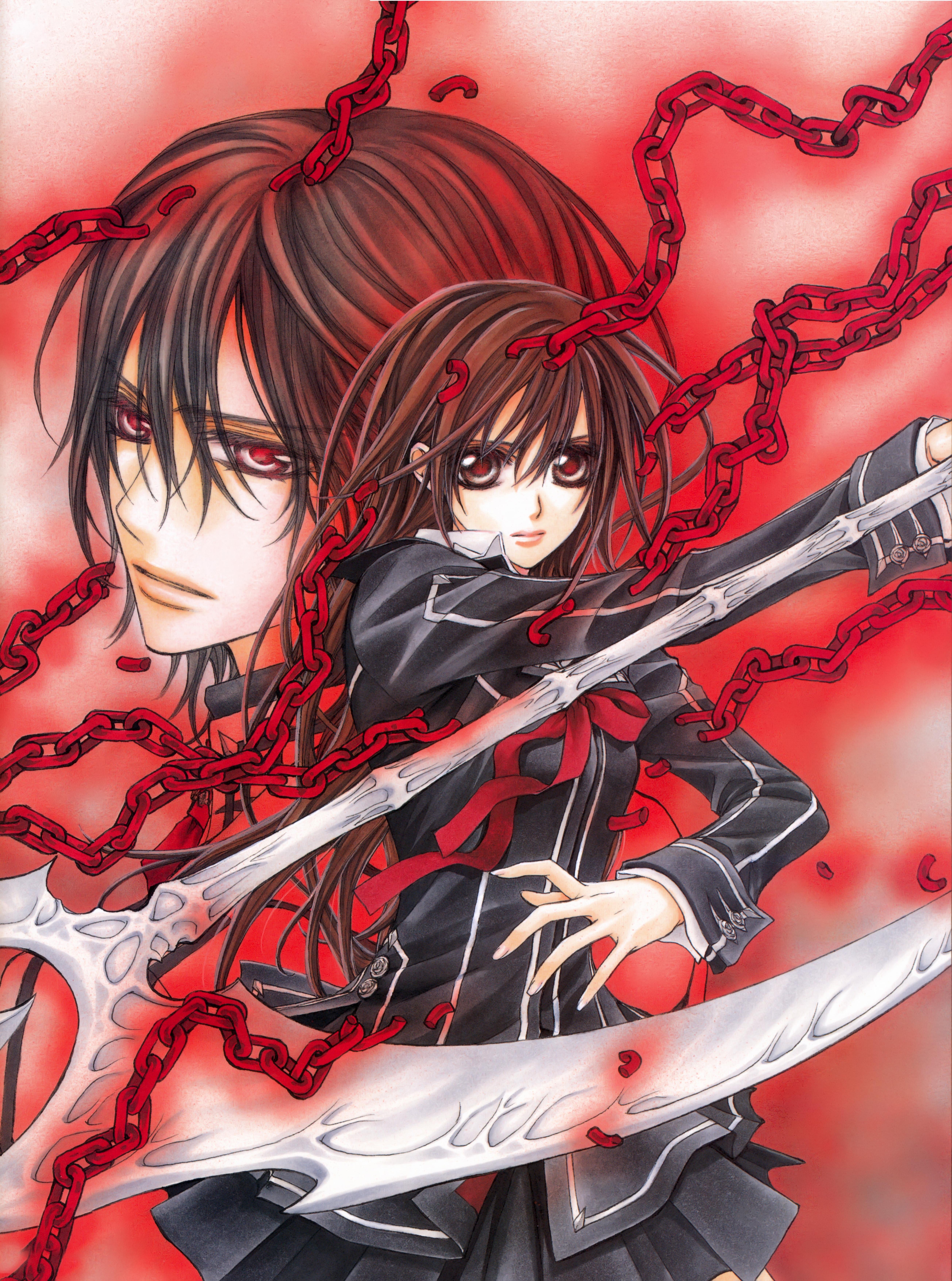 Картинки рыцари вампиров аниме