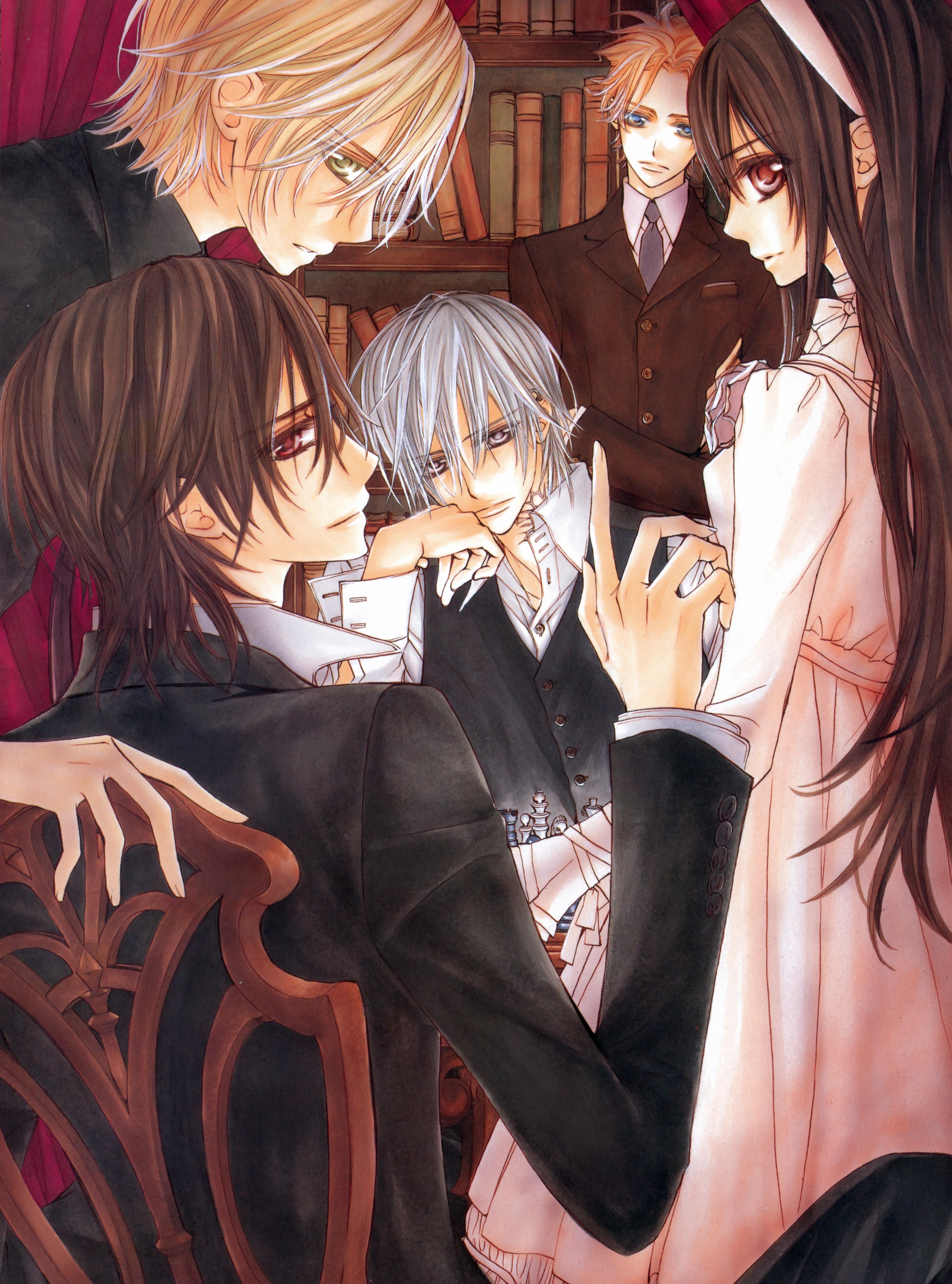 Аниме картинки вампиры и любовь