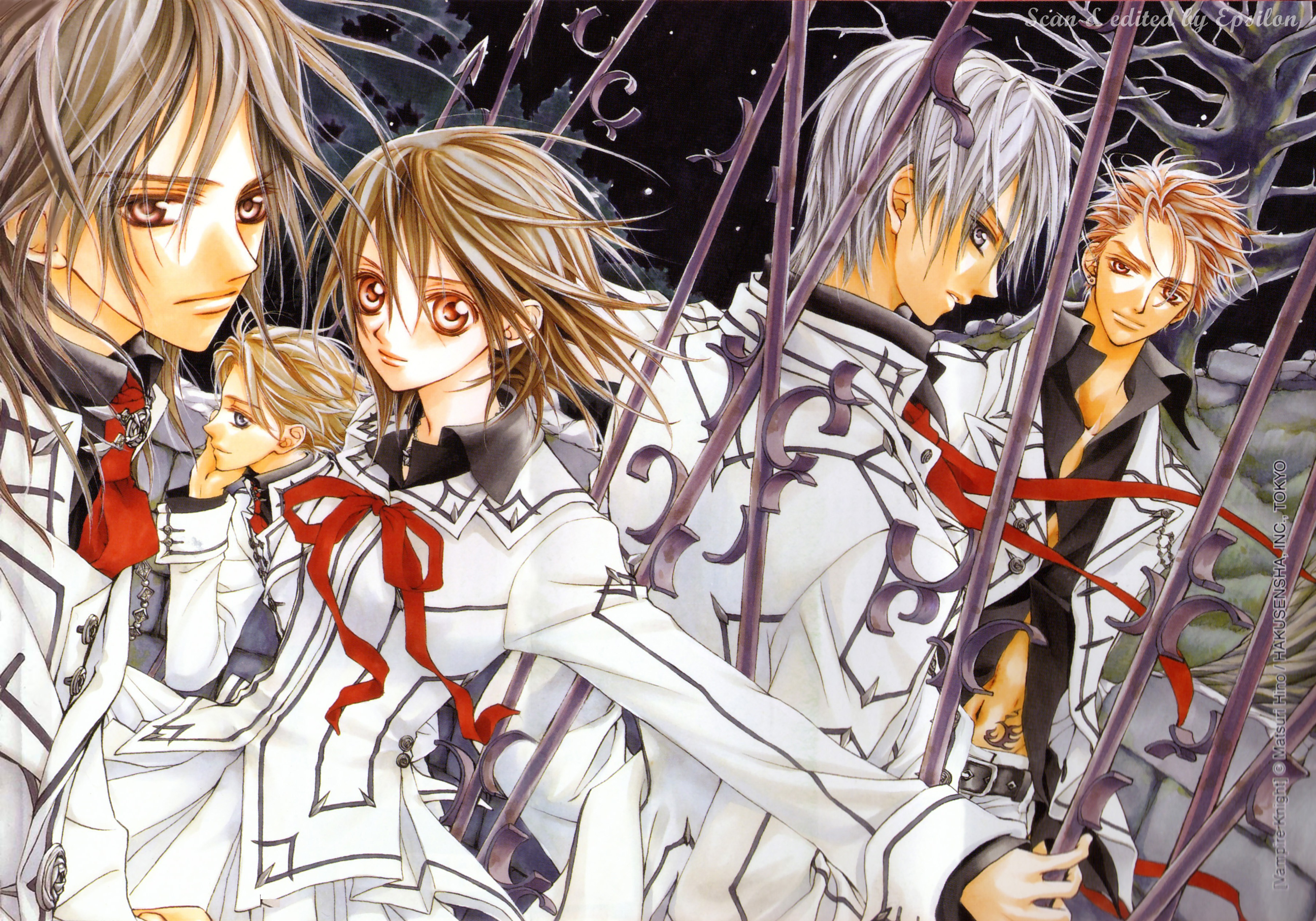 Google theme vampire knight