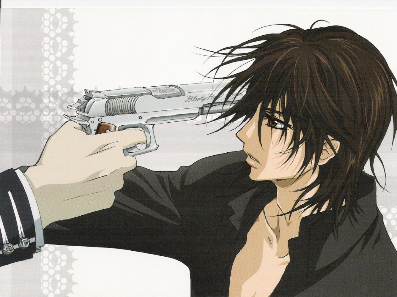 Bloody Gun Drawing