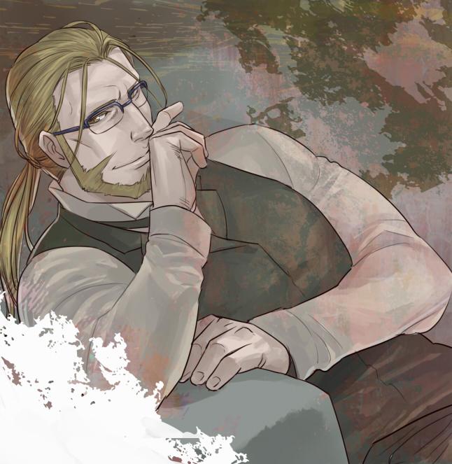 Tags: Anime, Jiro220, Fullmetal Alchemist, Van Hohenheim, Fanart