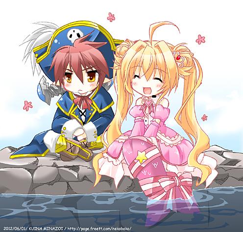Tags: Anime, Minazoi Kuina, Cardfight!! Vanguard, Top Idol Pacifica, Captain Nightkid, Fanart, Vanguard Race: Vampire, Bermuda △, Vanguard Race: Mermaid, Granblue, Vanguard Unit