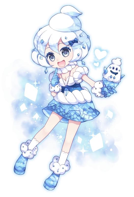 Tags: Anime, Wasabi (W.label), Pokémon, Vanillish, Mobile Wallpaper