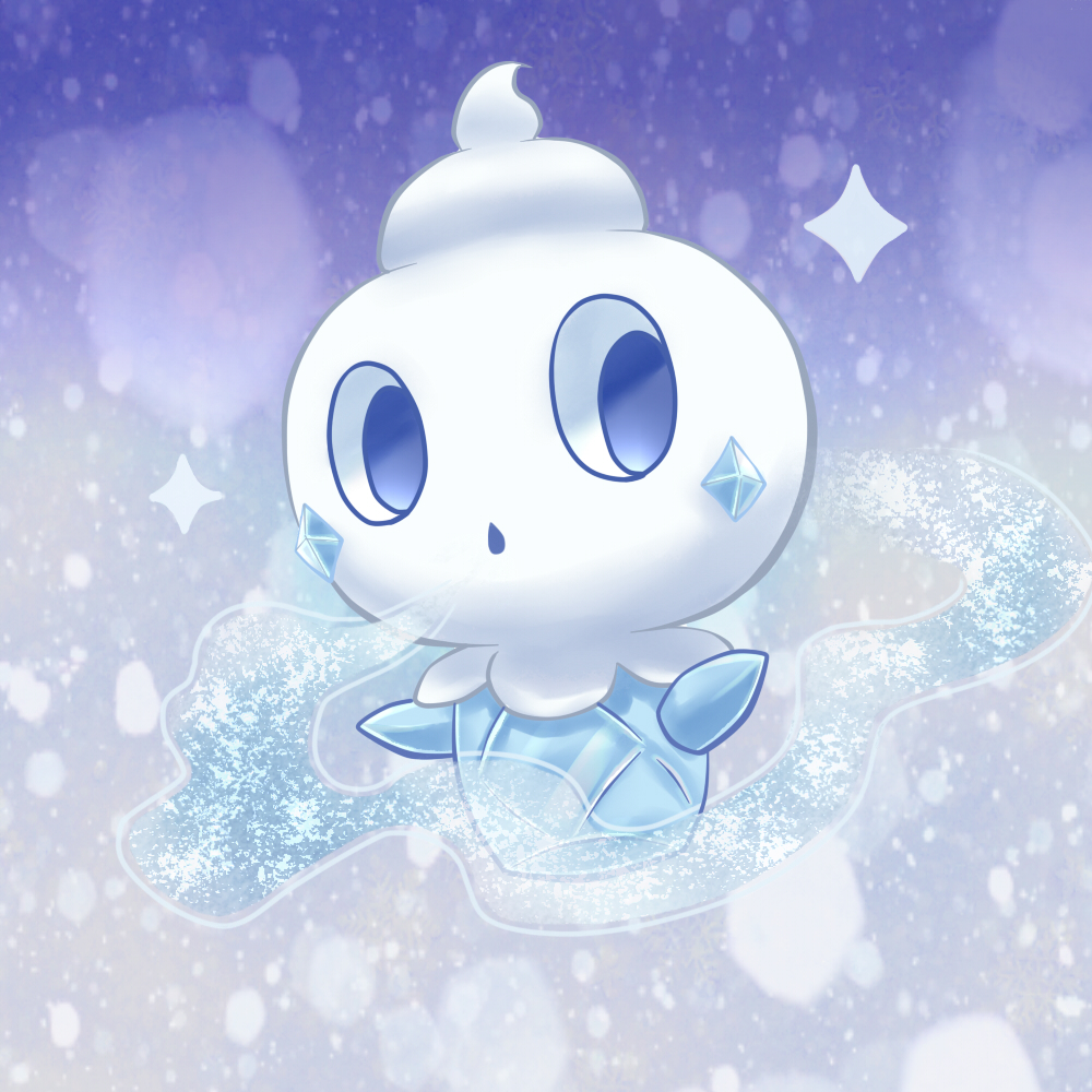 Vanillite Pok 233 Mon Image 1580365 Zerochan Anime Image Board