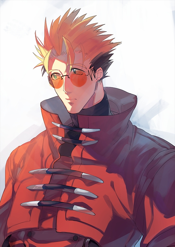 Tags Anime Pixiv Id 3950372 Trigun Vash The Stampede Red Coat