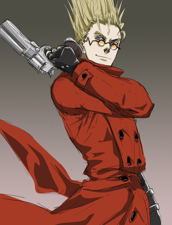 Tags Anime Doubleleaf Trigun Vash The Stampede Red Coat
