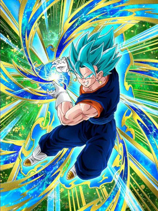 Tags: Anime, DRAGON BALL SUPER, DRAGON BALL, DRAGON BALL Z, Son Goku (DRAGON BALL), Vegeta, Vegito, Potara, Character Fusion, Super Saiyan Blue, Super Saiyan, Super Saiyan God