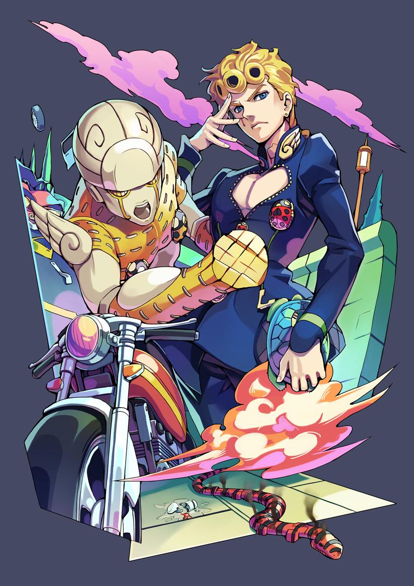 Gold Experience , Vento Aureo , Zerochan Anime Image Board