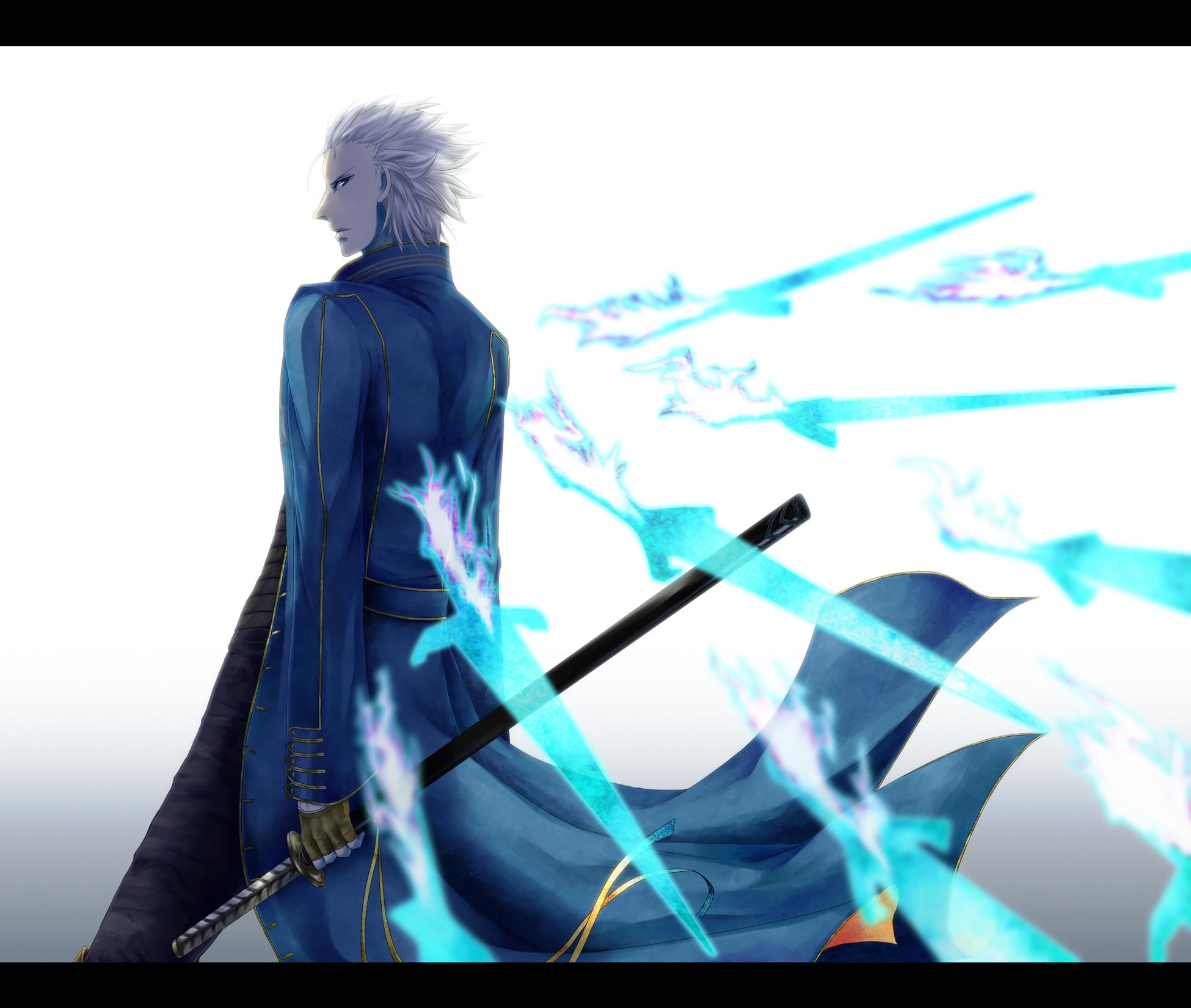 Обои the dark slayer, the son of sparda, демоны, sparda, gilver, nelo angelo, nelo angelo. Игры foto 11