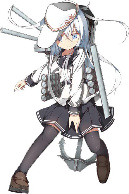 Tags: Anime, And Dokari, Kadokawa Games, Kantai Collection, Verniy (Kantai Collection), Hibiki (Kantai Collection), Cover Image, PNG Conversion, Official Art
