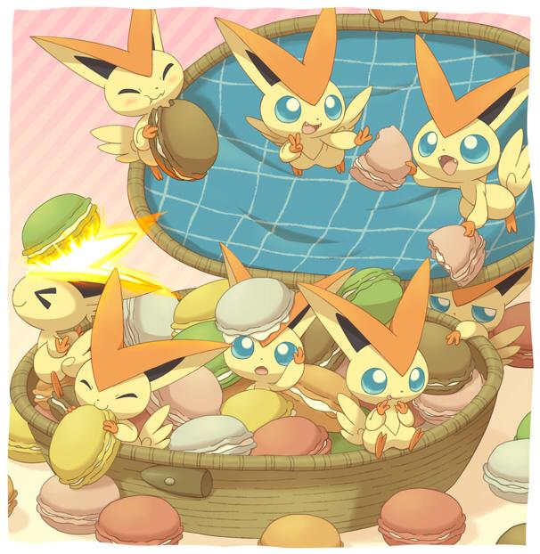 Tags: Anime, Jippe, Pokémon, Victini, Fanart, Legendary Pokémon, Pixiv
