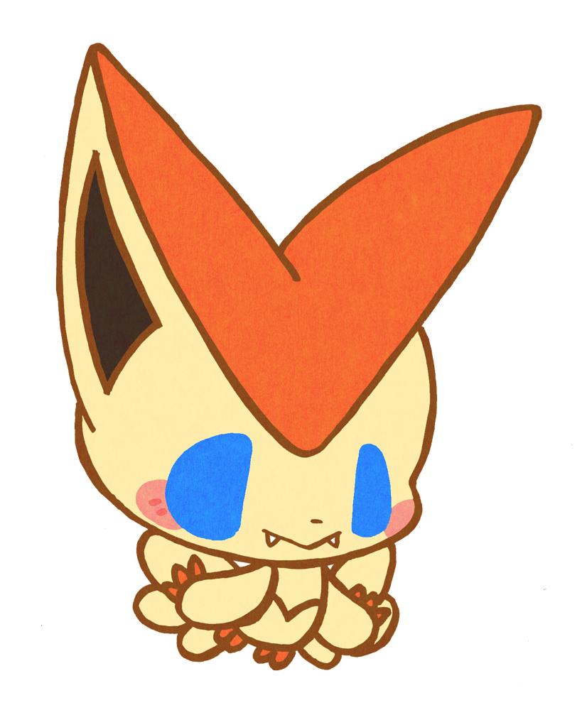 Victini Pok 233 Mon Image 1919526 Zerochan Anime Image