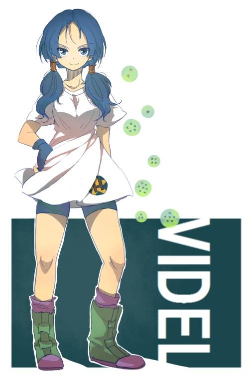Tags: Anime, Nanndeyanenn07, DRAGON BALL, DRAGON BALL Z, Videl, Bike Shorts, Dragonball (Object), Mobile Wallpaper