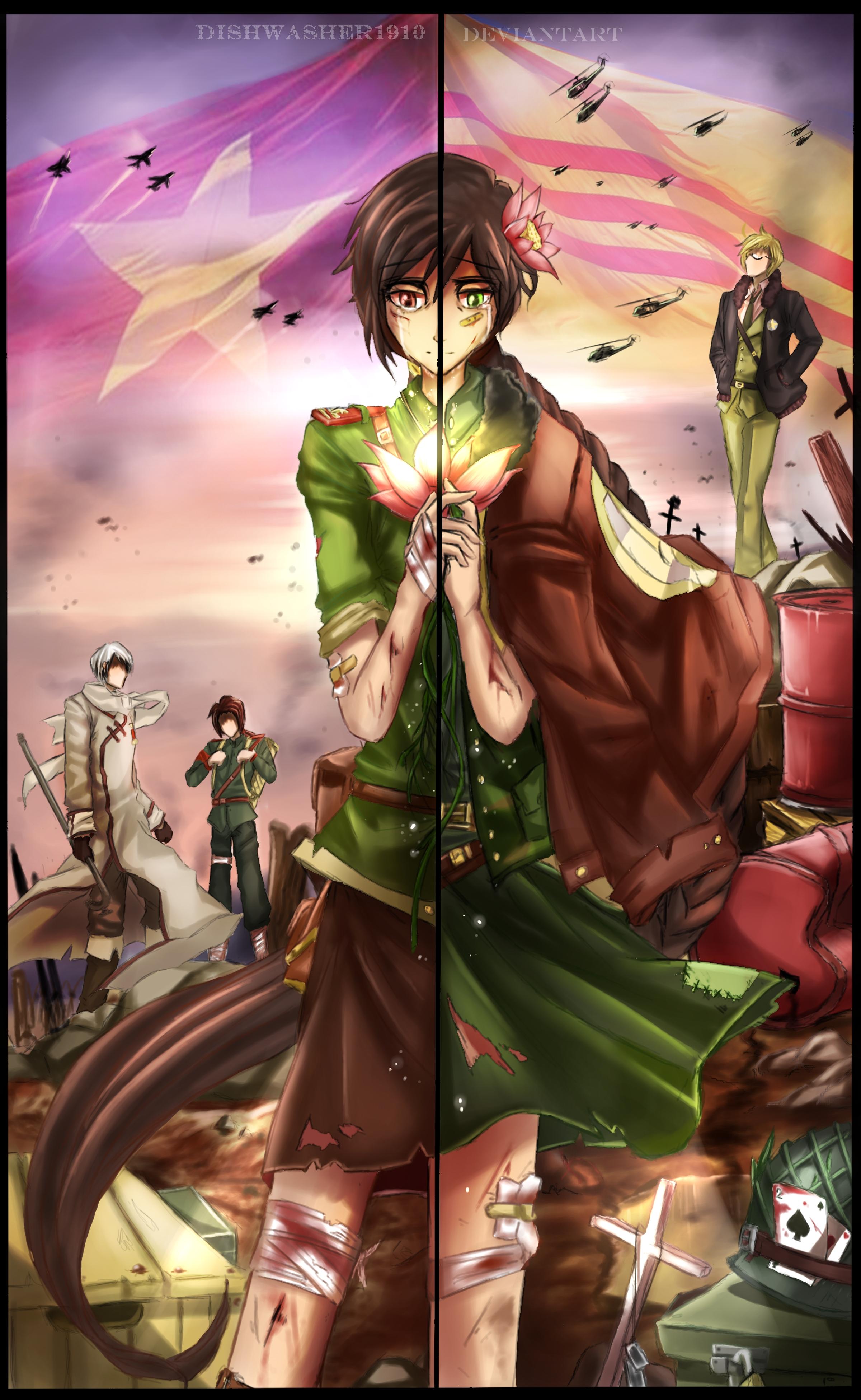 Vietnam Axis Powers Hetalia Zerochan Anime Image Board