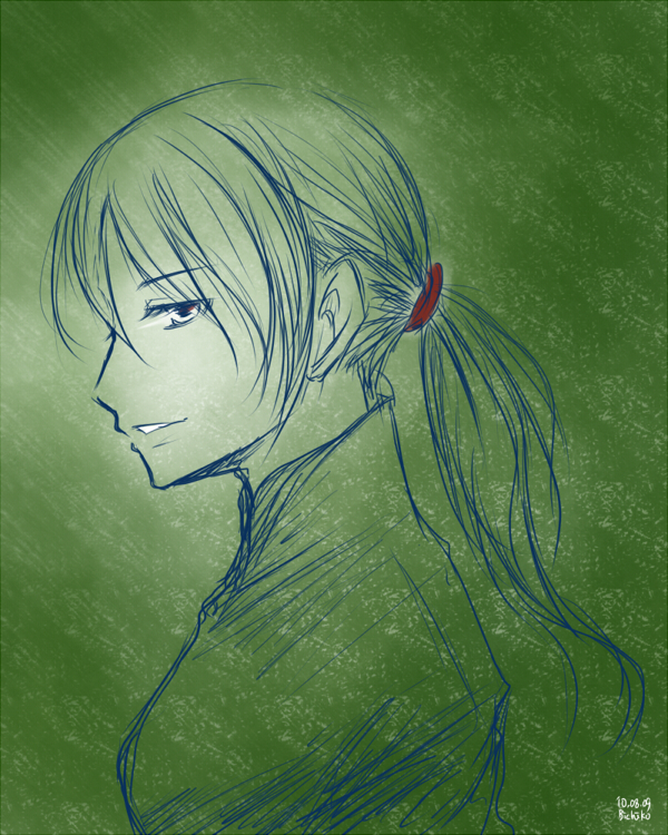 Tags: Anime, Axis Powers: Hetalia, Vietnam, Vietnamese Clothes, Aodai, Artist Request, Sketch