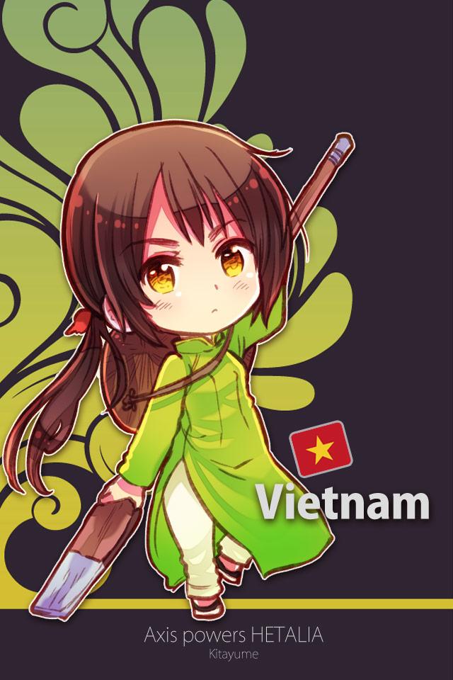 vietnam - axis powers  hetalia