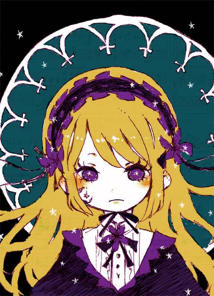 Tags: Anime, Pixiv Id 293203, Violet (Sound Horizon), Violet (Flower), Pixiv, Fanart From Pixiv, Sketch, Roman (Sound Horizon), Fanart, Sound Horizon