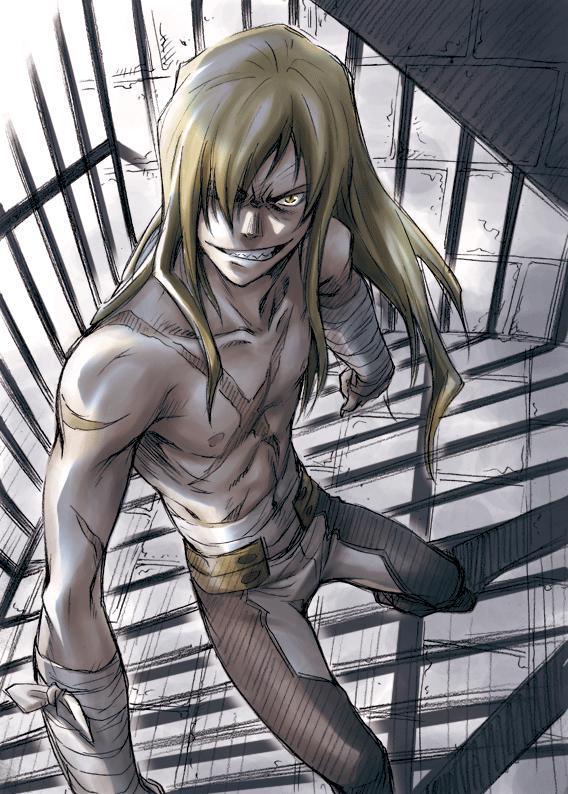 Tags: Anime, Karas (mangaka), Tengen Toppa Gurren-Lagann, Viral (Tengen Toppa Gurren-Lagann), Mobile Wallpaper