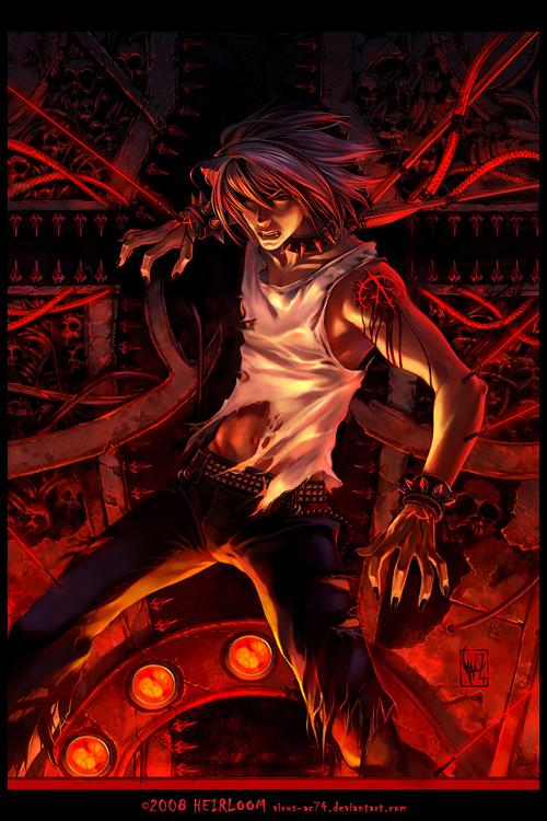 Tags: Anime, Virus Ac74, Pixiv, Original, deviantART