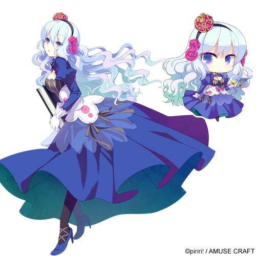 Tags: Anime, Izumi Makoto, piriri!, Kimi to Boku to no Kishi no Hibi -Rakuen no Chevalier-, Vivian Le Alferia, Cover Image, Official Art