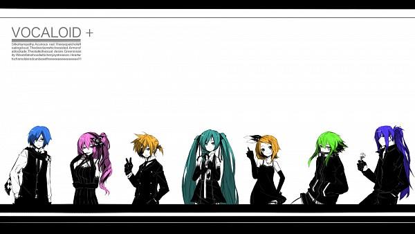 Tags: Anime, Tokiti, Vocaloid, Kamui Gakupo, Megurine Luka, Hatsune Miku, KAITO