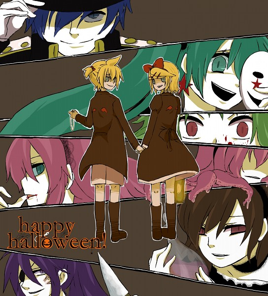 Tags: Anime, Pixiv Id 1003065, Vocaloid, Takoluka, Megurine Luka, Hatsune Miku, GUMI