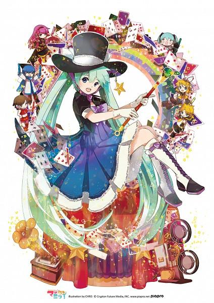Tags: Anime, Hatsune Miku, Vocaloid, Kagamine Rin, Kagamine Len, KAITO, Megurine Luka