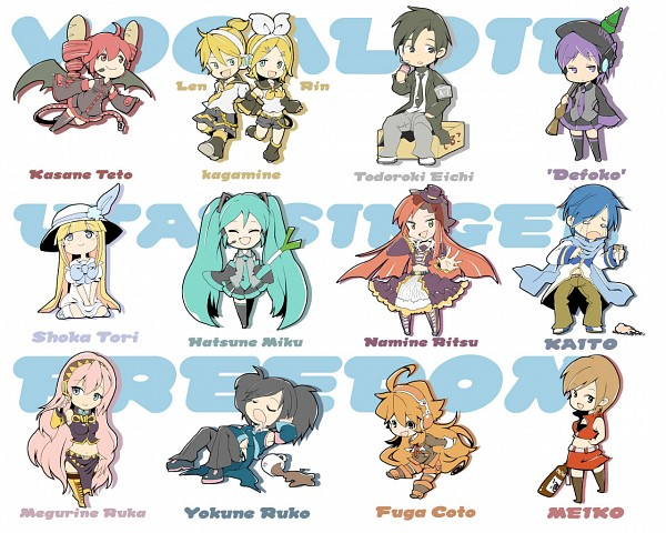 Anime Vocaloid Characters Names 365 Funny Pics