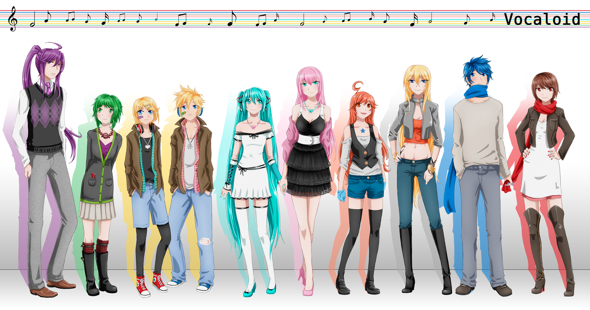View Fullsize Vocaloid Image Vocaloid Characters