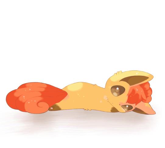 Tags: Anime, Mitiruni, Pokémon, Vulpix, Pixiv, Fanart From Pixiv, Fanart, PNG Conversion