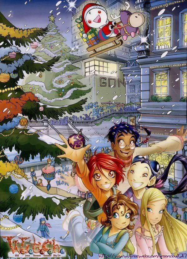 Tags: Anime, Mahou Shoujo Madoka☆Magica, W.I.T.C.H, Hay Lin, Irma Lair, Will Vandom, Taranee Cook, Cornelia Hale, Kyubee