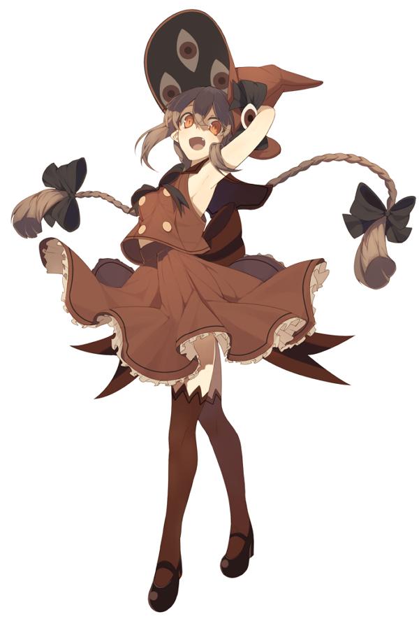 Tags: Anime, pig ggul, Oounabara to Wadanohara, Wadanohara, Brown Legwear, Brown Skirt, Brown Headwear, Brown Shirt, Brown Hat, PNG Conversion, Pixiv, Fanart, Fanart From Pixiv