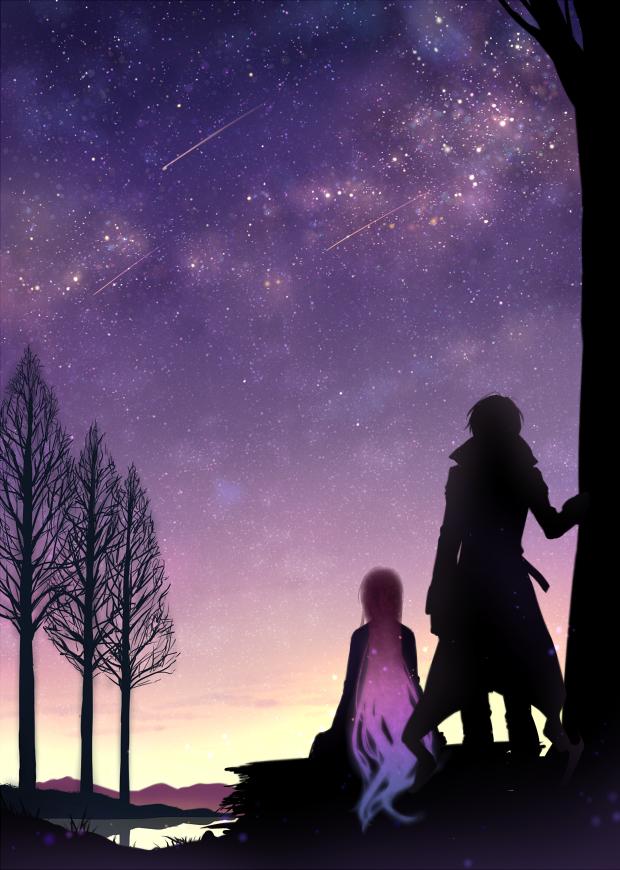 Tags: Anime, Yuuna Minato, Walpurgis no Uta ~Walpurgisgedichte~, Fins (Walpurgis no Uta), Izumi Shio, Fanart, Fanart From Pixiv, Mobile Wallpaper, PNG Conversion, Pixiv