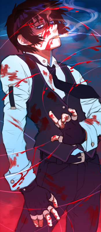 Tags: Anime, Skullcaps, HELLSING, Walter C. Dornez, Blood On Weapons, deviantART, Fanart, Fanart From DeviantART