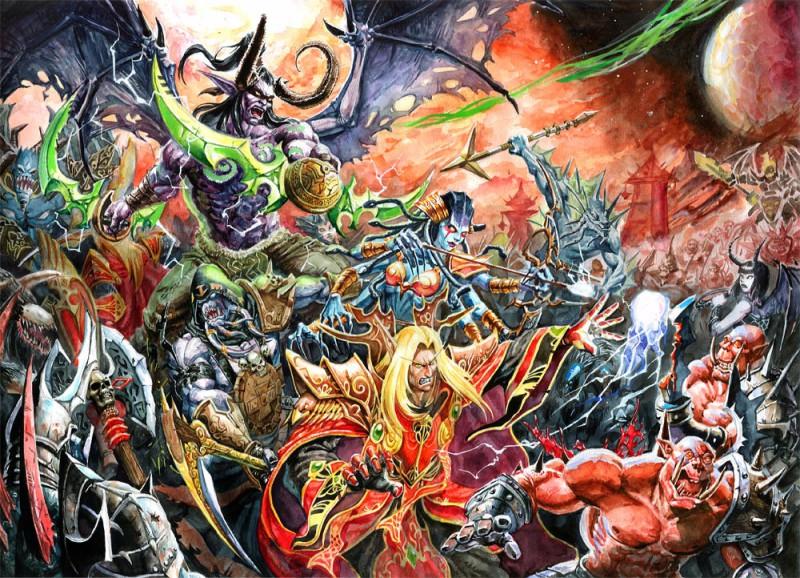 Warcraft 3 Anime Characters : Draenei warcraft zerochan anime image board