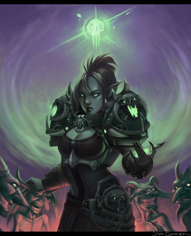 warcraft orc fan art