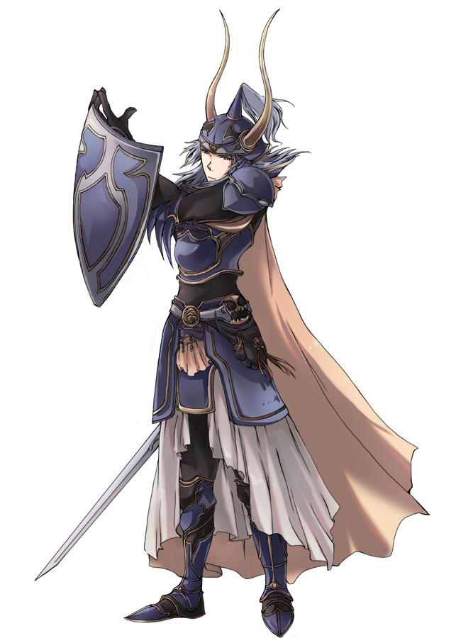 Warrior Of Light Final Fantasy I Mobile Wallpaper