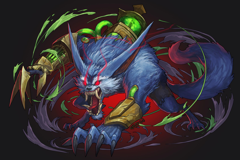 Warwick League Of Legends Zerochan Anime Image Board