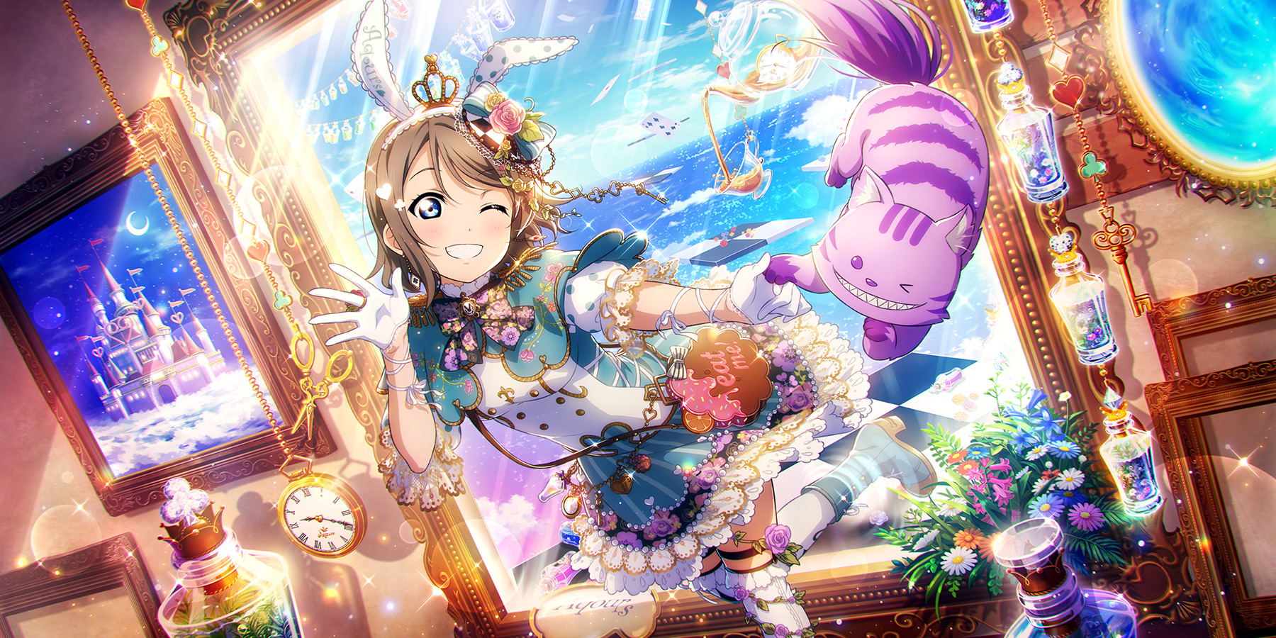 Watanabe You You Watanabe Love Live Sunshine Wallpaper 2707768 Zerochan Anime Image Board