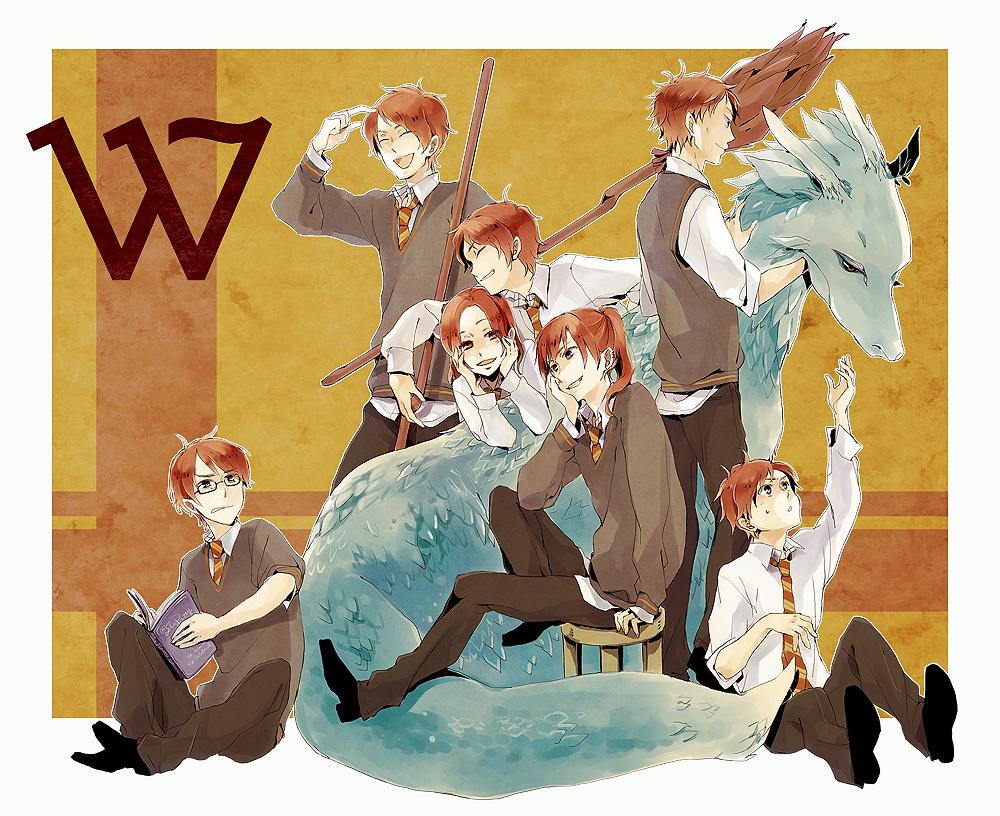 Weasley Family - Harry Potter - Image #261476 - Zerochan ...