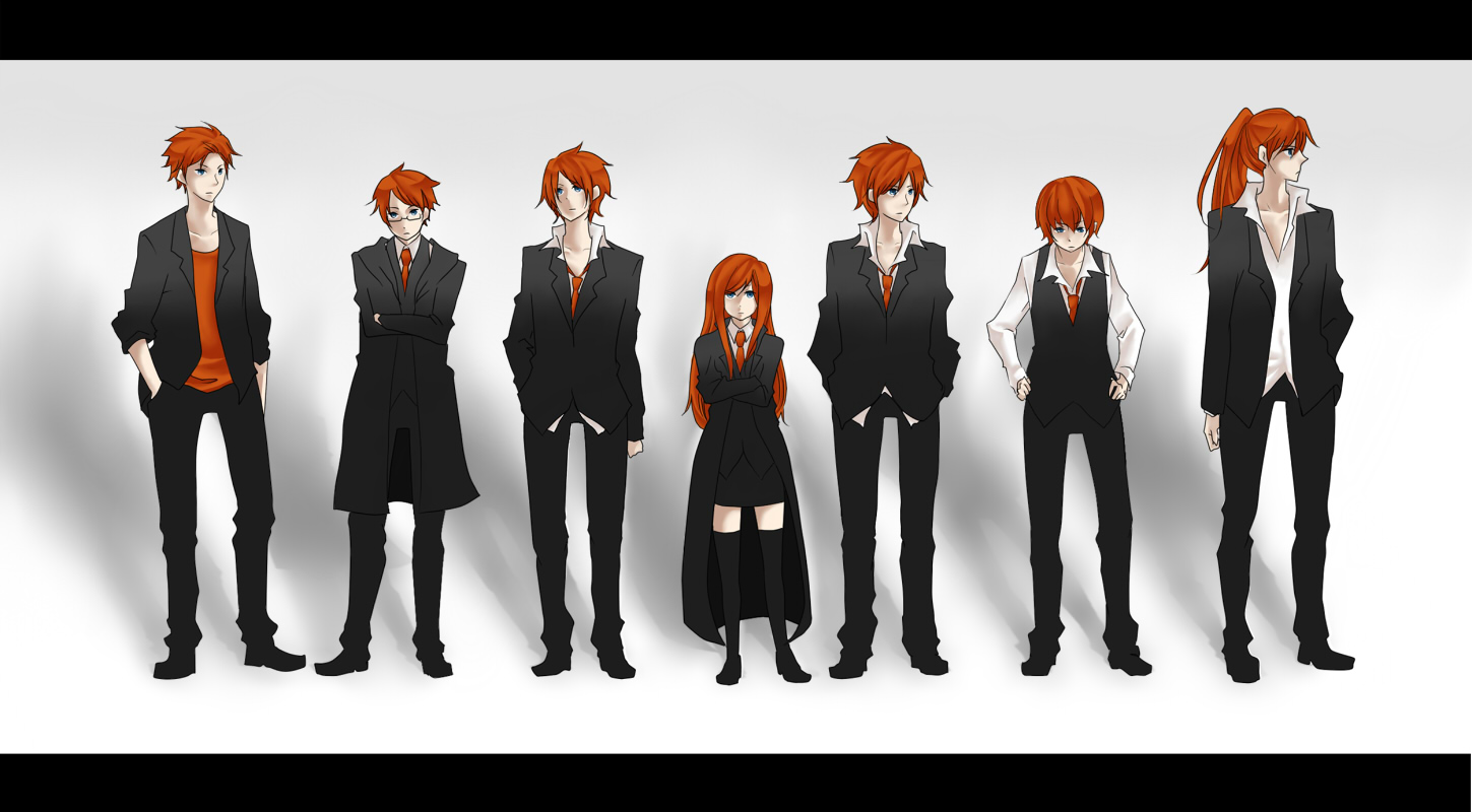 Weasley Family - Harry Potter - Image #695458 - Zerochan ... Weasley Family Anime