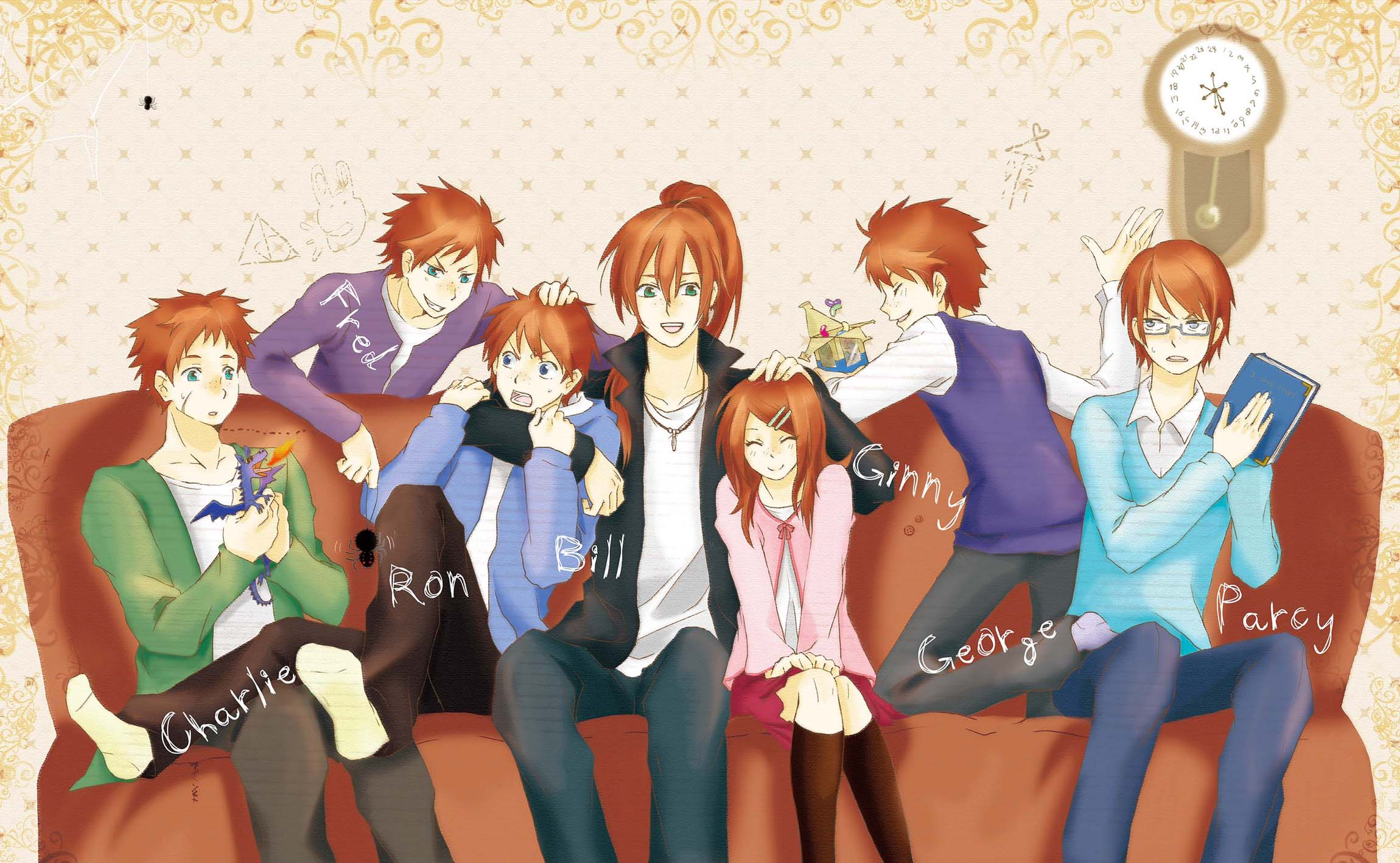 Weasley Family Harry Potter Wallpaper 711115 Zerochan Anime