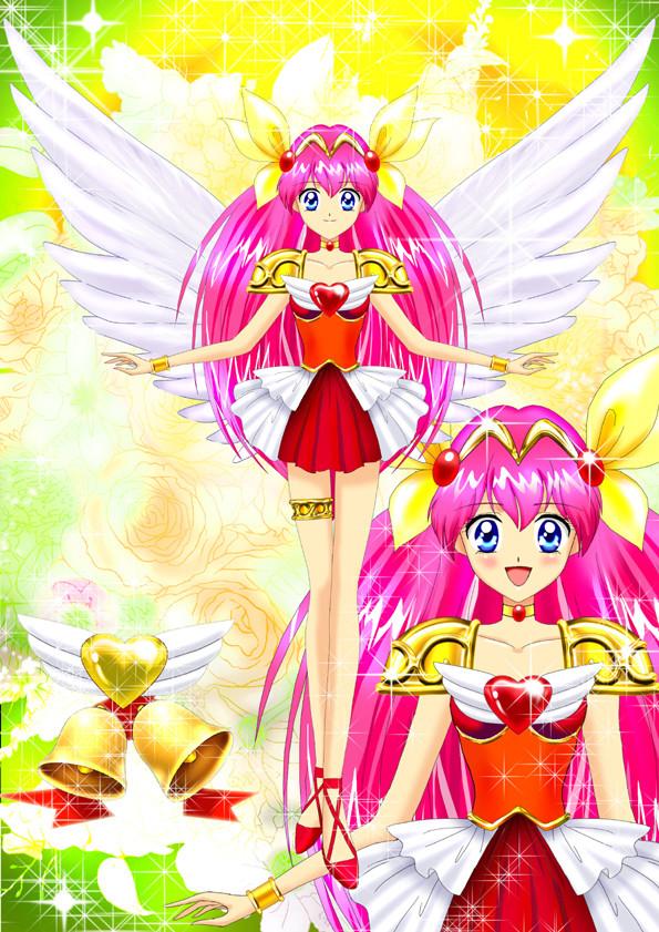Tags: Anime, Luna Rune, Wedding Peach, Wedding Peach (Character), Hanasaki Momoko, Fanart