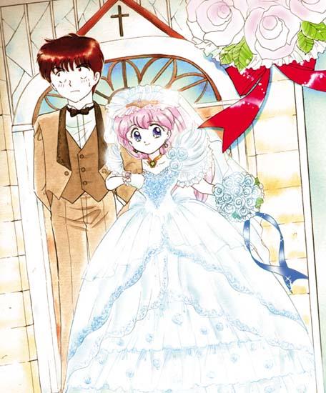 Tags Anime Wedding Peach Fuuma Yousuke Hanasaki Momoko