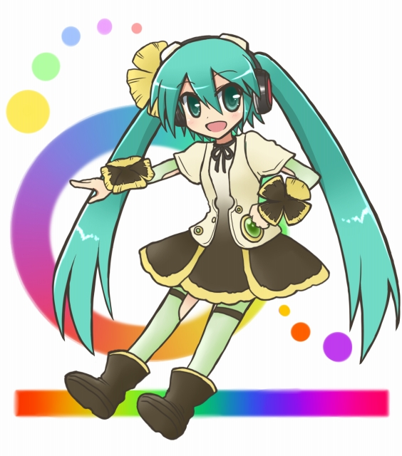 Tags: Anime, Pixiv Id 3311661, Project DIVA F, VOCALOID, Hatsune Miku, Project DIVA Pansy, Weekender Girl
