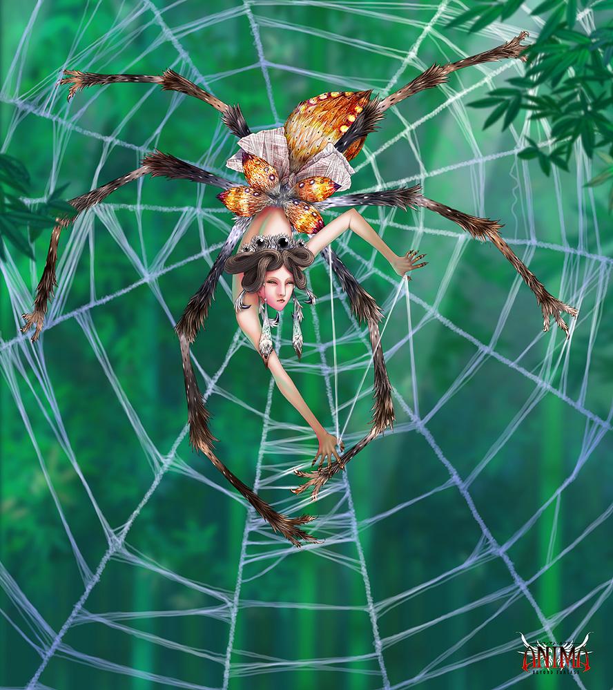Картинка связанная с пауком